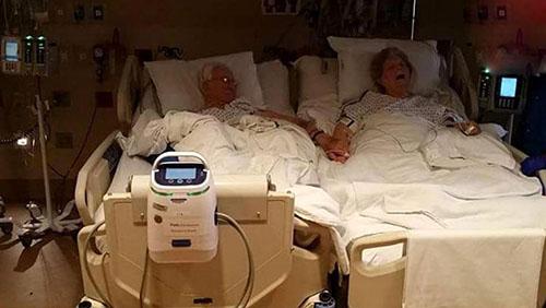 عکس تکاندهنده از مرگ رمانتیک زوج عاشق
