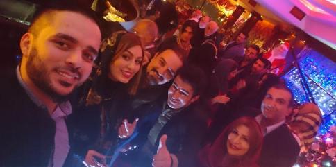 تصاویر بازیگران در جشن تولد سحر قریشی
