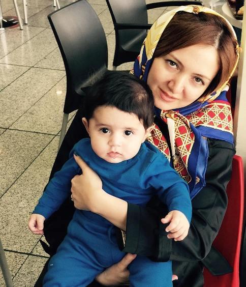 رونمایی حمید عسگری از عکس همسر و فرزندش