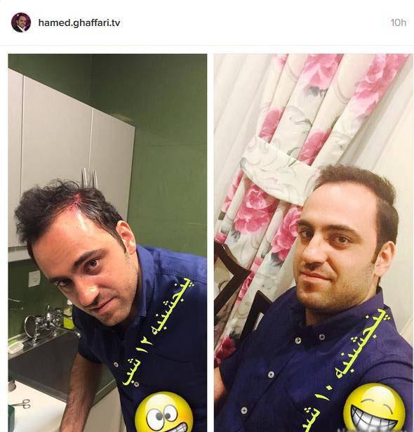 عذرخواهی مجری ایرانی بخاطر عکس نامناسبش +تصاویر