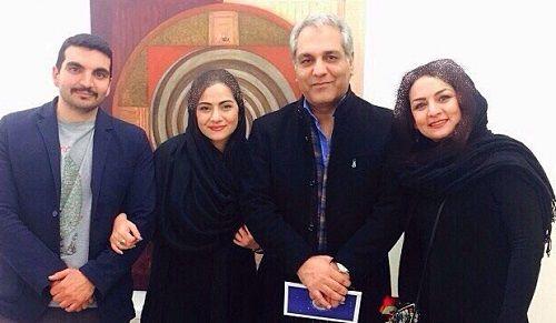 عکس واقعی همسر و فرزندان مهران مدیری