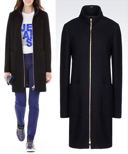 مدلهای جدید مانتو و پالتو از جورجیو آرمانی