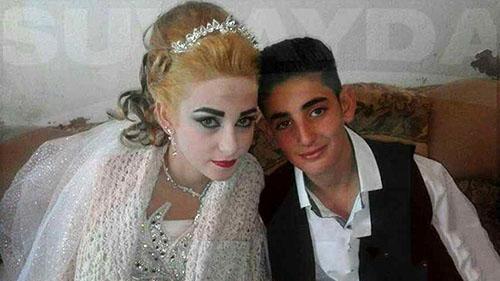 جنجال پخش عکس عقد این دختر و پسر و نوجوان