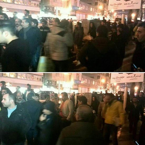 عکس تجمع مردم جلوی بیمارستان محل درگذشت رفسنجانی