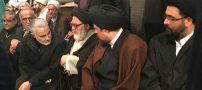 فیلم حضور حاج قاسم سلیمانی در جماران و منزل هاشمی + عکس