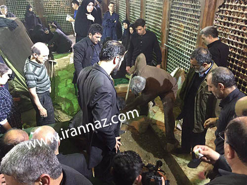 حاشیه های تشییع و دفن آیت الله هاشمی +تصاویر