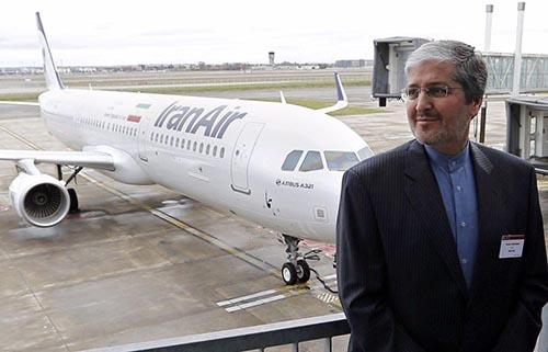 اولین تحویل هواپیمای ایرباس به ایران بعد از برجام +تصاویر