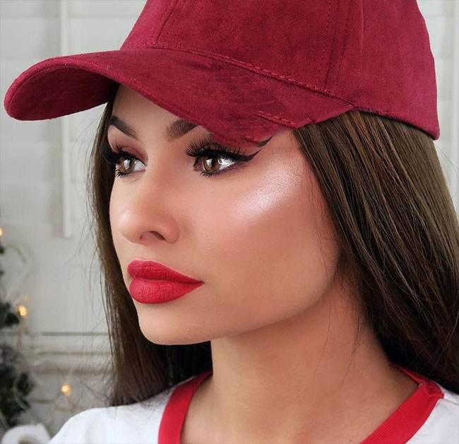 زیباترین مدلهای رنگ مو و آرایش صورت TALIA