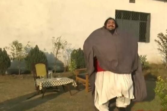 تلاش عجیب مرد 440 کیلویی برای شکستن رکورد +تصاویر