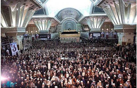 تصاویر و حاشیه های مراسم هفتم آیت الله هاشمی