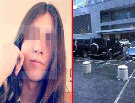 سلفی مرگبار دختری در بلندترین ساختمان اروپا +تصاویر