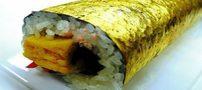 گرانترین سوشی دنیا با طعم طلا +عکس
