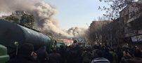 یک آتش نشان زنده از زیر آوار پلاسکو نجات یافت +عکس و جزئیات