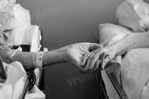 مرگ زن عاشق چند ساعت پس از فوت همسرش +عکس