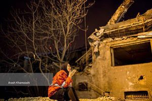 بیتابی همسر آتش نشان مفقودی حادثه پلاسکو + تصاویر