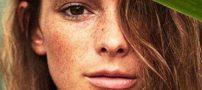 تصاویر مدل های زیبا و مشهور در جهان بدون آرایش