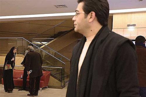 آزاده نامداری و شوهر سابقش در جشنواره فجر ( عکس )