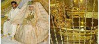 گران ترین لباس عروس دنیا را ببینید (عکس)