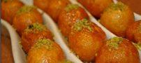دستور پخت يک شيرينی عربی خوشمزه