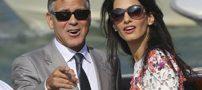 جرج کلونی و همسرش صاحب دوقلو میشوند (عکس)