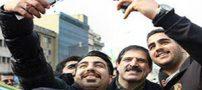 تصاویر سلفی عباس جدیدی در 22 بهمن