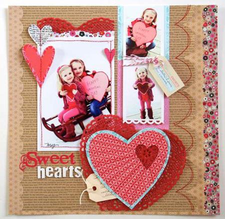 تصاویر کارت تبریک دست ساز برای ولنتاین