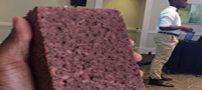 مخترع باهوش از کاغذ باطله آجر ساخت (عکس)