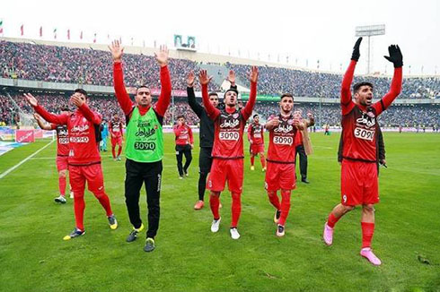 کار عجیب بازیکنان پرسپولیس بعد باخت مقابل استقلال (عکس)