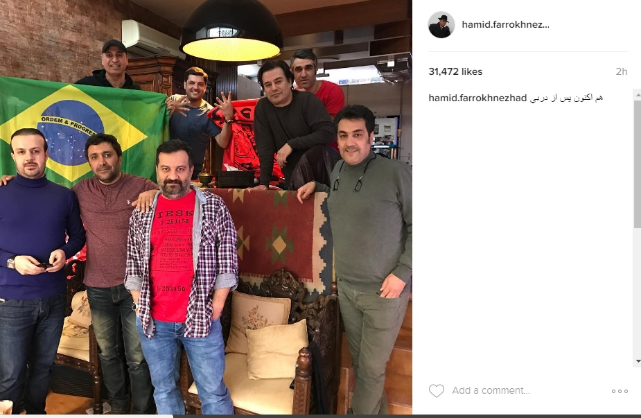 واکنش بازیگران مشهور به برد استقلال از پرسپولیس