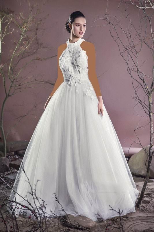 جدیدترین مدل های لباس عروس مد سال (تصاویر)