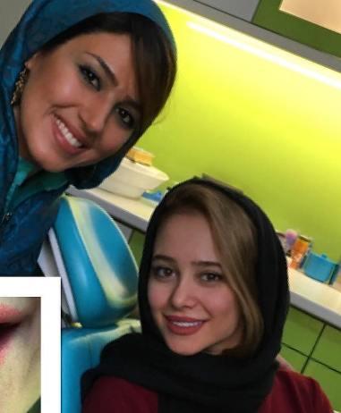 نوشته الناز حبیبی برای تولد دکتر دندانپزشکش (عکس)