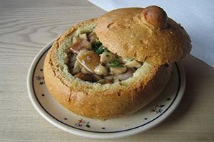 دستور پخت نان سوپ خوشمزه (عکس)