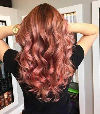 جدیدترین رنگ موی مد سال 2017 (عکس)
