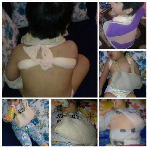 مربی مهد در تهران ترقوه کودک 3 ساله را شکست (تصاویر)