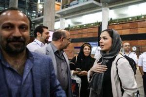 تبریک جالب ترانه علیدوستی برای اسکار اصغر فرهادی (عکس)