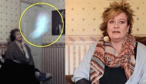 زندگی عجیب این زن با یک روح در خانه (عکس)