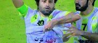 عصبانیت عرب ها از شادی پس از گل بازیکن ایرانی (عکس)