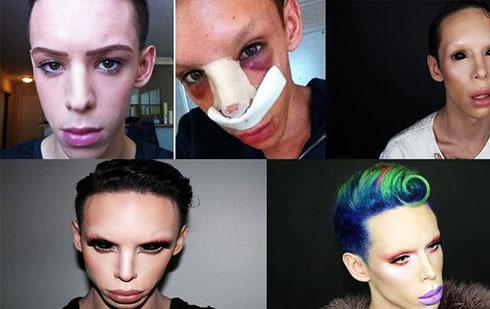 110 عمل برای جنسیت خنثی و چهره فضایی (تصاویر)
