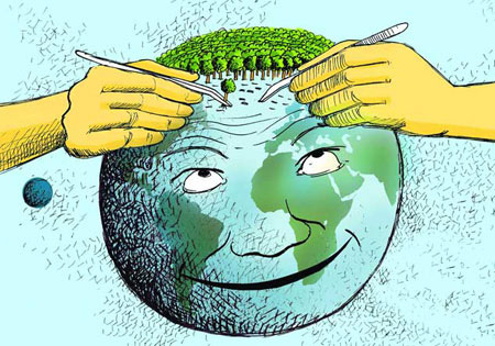 عکس و پوستر درباره روز درختکاری