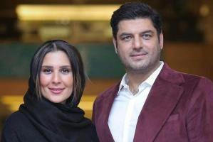 سام درخشانی و همسرش عسل در حال اسکی (عکس)