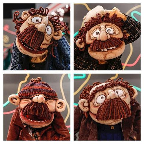 عروسک های جدید برنامه خندوانه رامبد جوان (عکس)