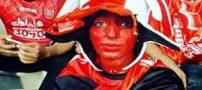 ورود یواشکی دختر پرسپولیسی در ورزشگاه آزادی (عکس)