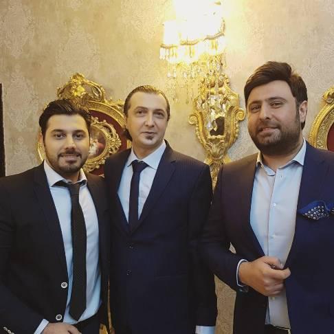 خواننده های مشهور در عروسی مهرداد نصرتی (عکس)