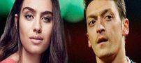 رابطه زیباترین دختر ترکیه با فوتبالیست مشهور لو رفت (تصاویر)