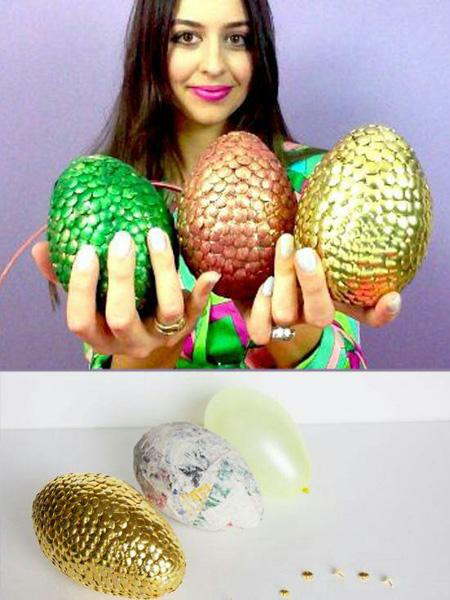 روشهای جدید تزیین زیبای تخم مرغ هفت سین (تصاویر)