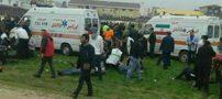 درگیری و مصدومیت 57 نفر در مسابقه فوتبال بابل (عکس)