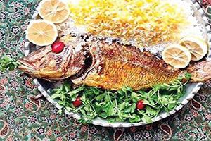 روش پخت ماهی شکم پر برای شب عید