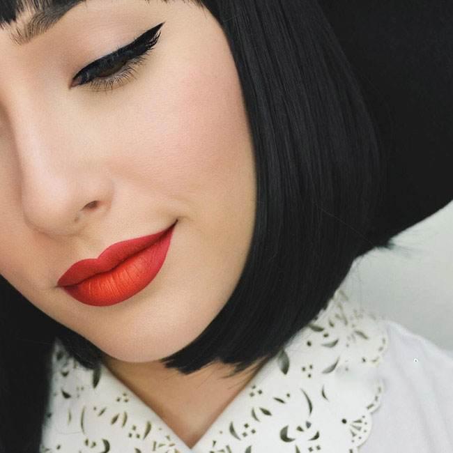 جدیدترین مدلهای آرایش صورت و رنگ مو فانتزی