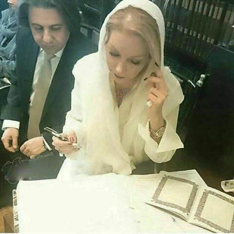 عکسی از مراسم عروسی افشین یداللهی و شبنم