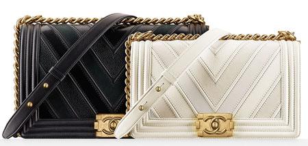 زیباترین مدل کیف های زنانه برند شنل (تصاویر)